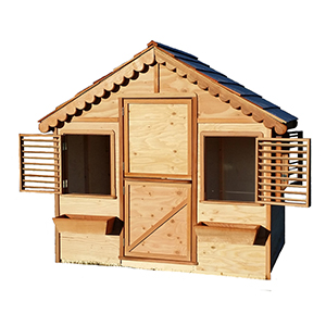 our smallest playhousekits are sold through the Home depot for our USA customers