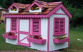 kids pink playhouse