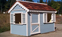 Light blue playhouse