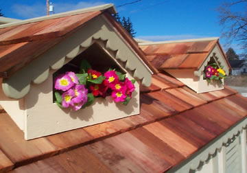 Dormers are a great way to dress up the roof